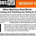 When Machines Read Minds:  How Training & Teaching are Going to Change