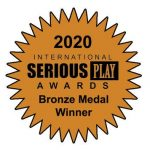 Money Experience Pro took home a bronze medal in the Corporate and Vocational Skills Games sector of the Digital Serious Games category