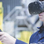 Safety training for ground operations with virtual reality