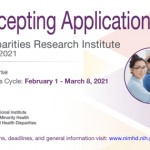 NIMHD Invites Research Scientists To Apply For Health Disparities Research Institute Grants